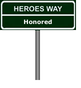 Soldiers Honored Sign