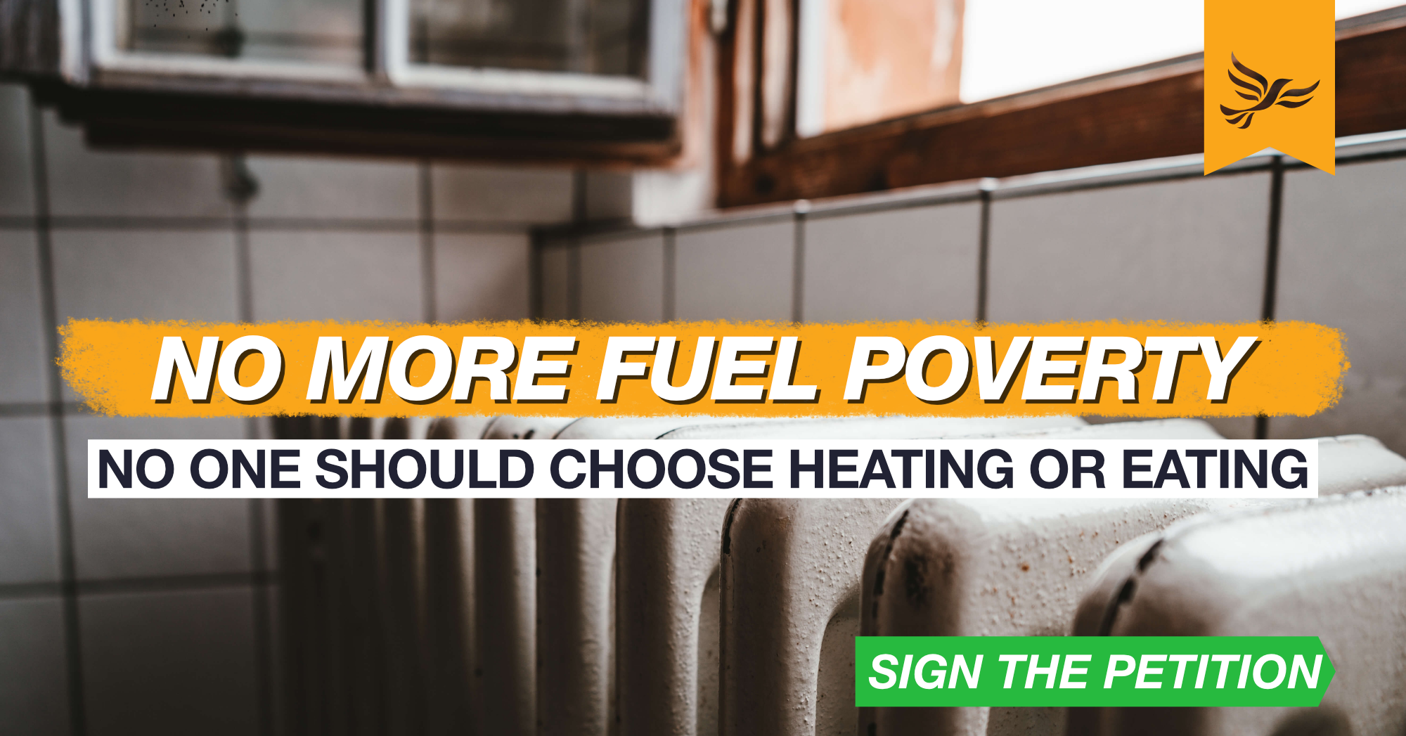 No one should choose heating or eating!