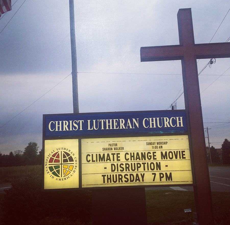 Christ Lutheran Sign