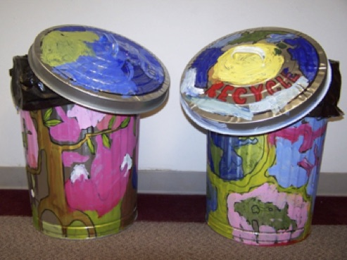 Disciples Recycling Bins