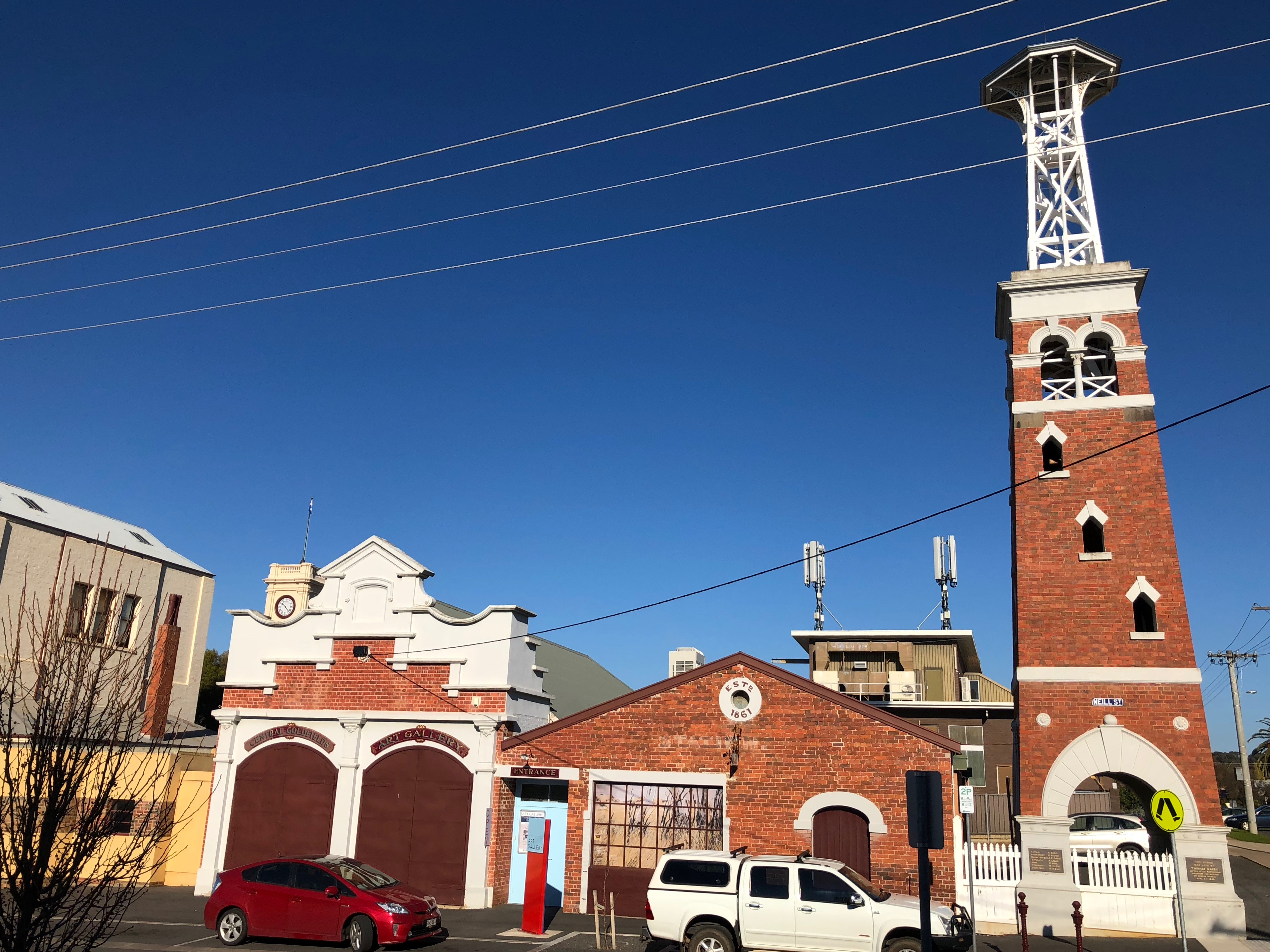 Old Fire Station complex, Maryborough