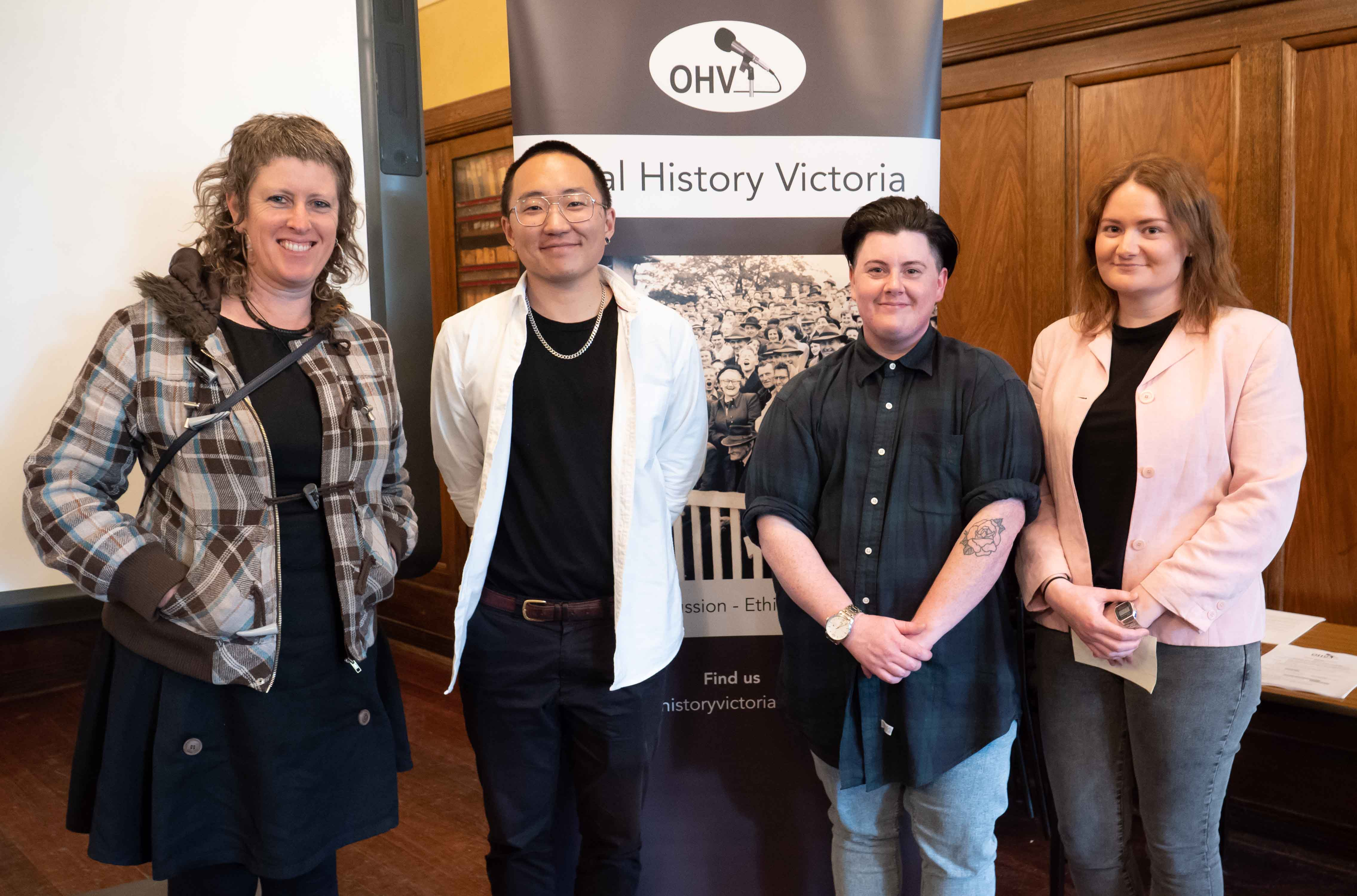 Image of the award-winning oral historians, speakers at the June 2019 seminar