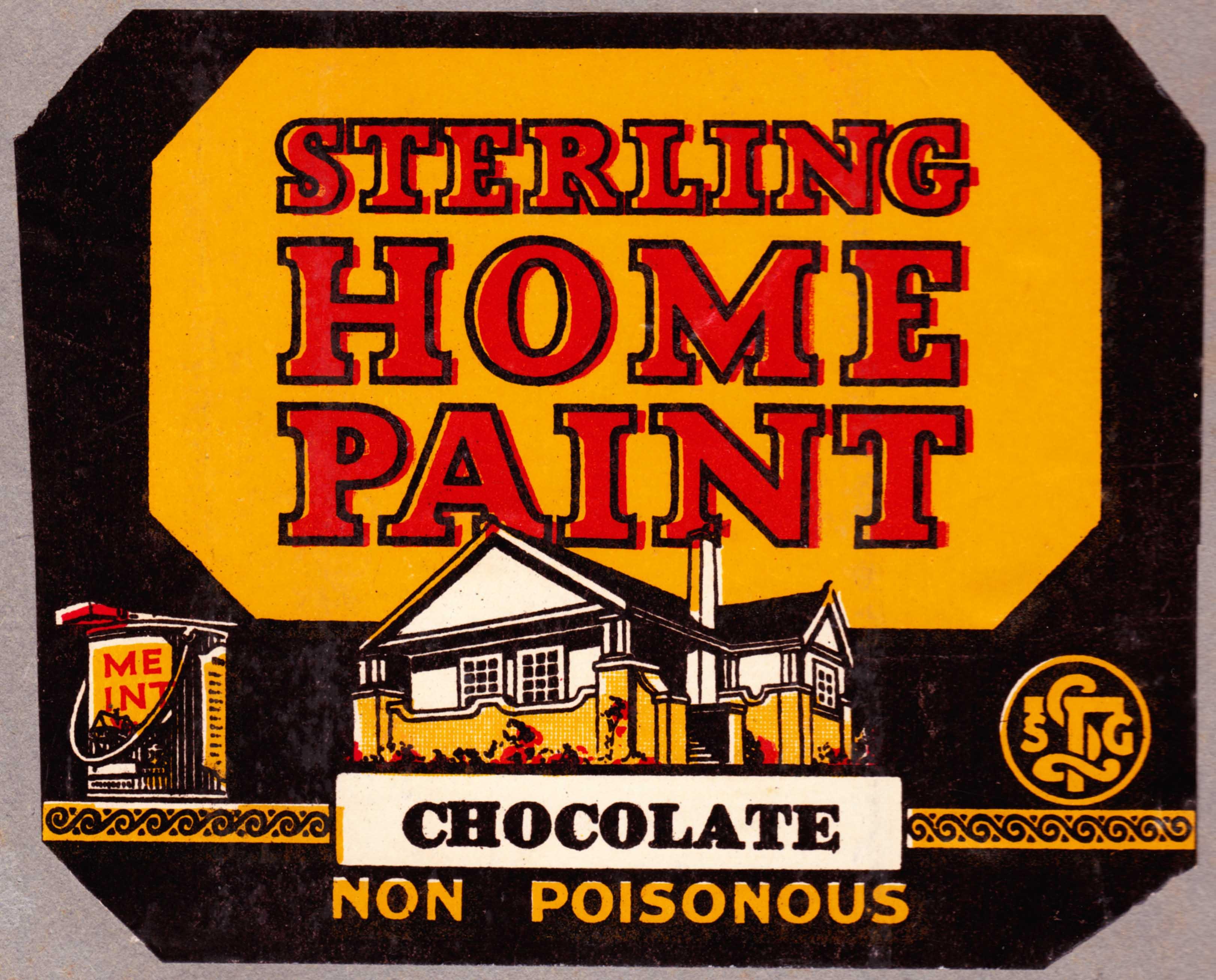 Paint label