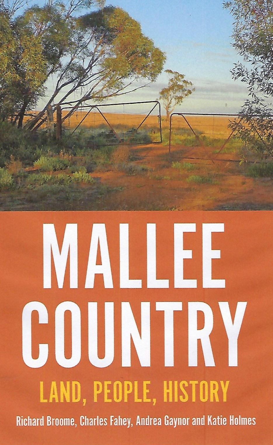Mallee Country - book cover