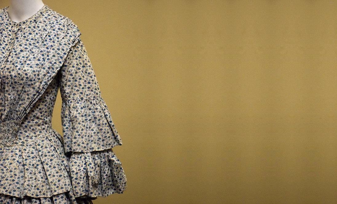 Crinoline dress, 1850s