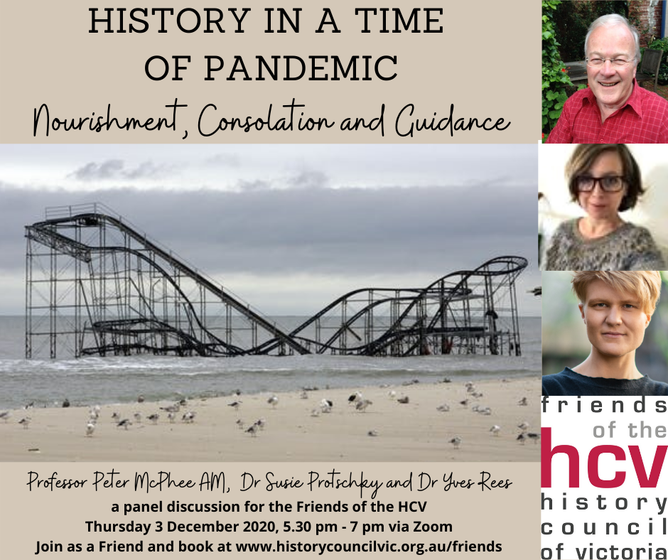 History in a time of pandemic - 3Dec2020