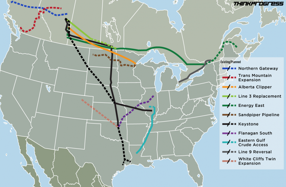 South Dakota Oil Pipeline Map Swimnovacom - Oil pipeline map north america