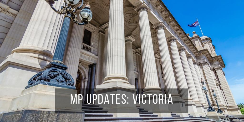 MP Updates: Victoria
