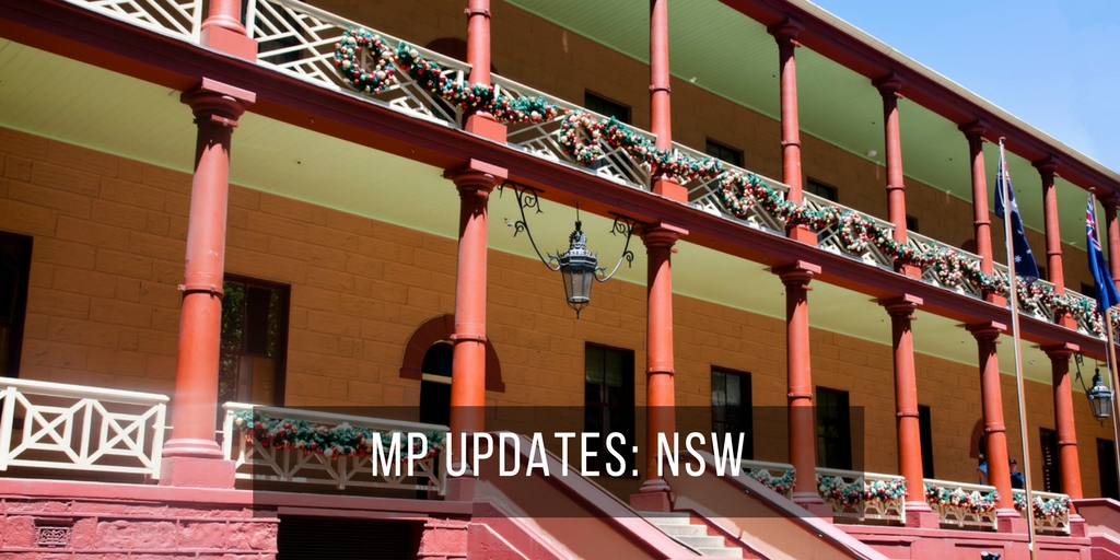 MP Updates: NSW