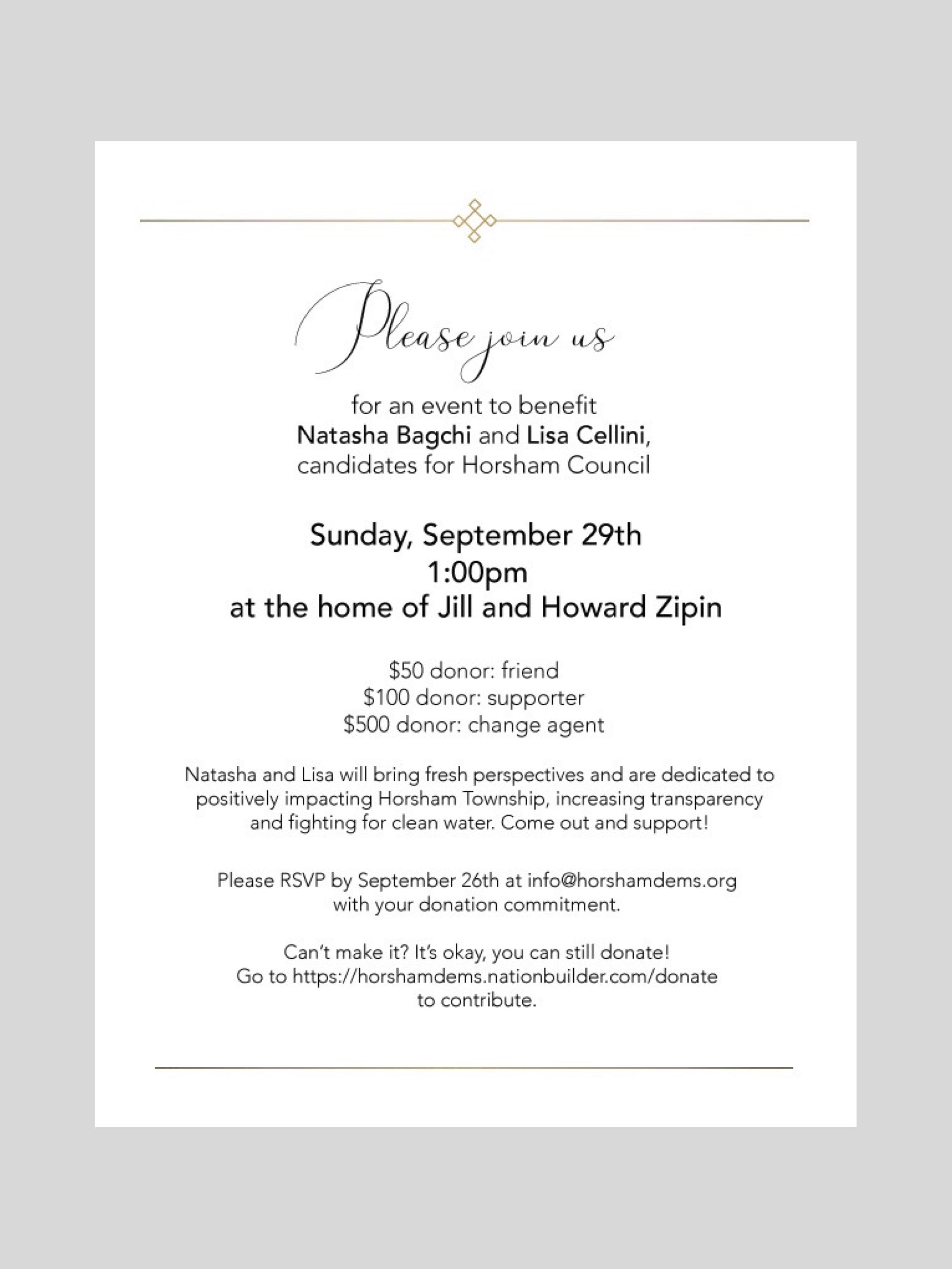 Fundraiser Jill Zippin