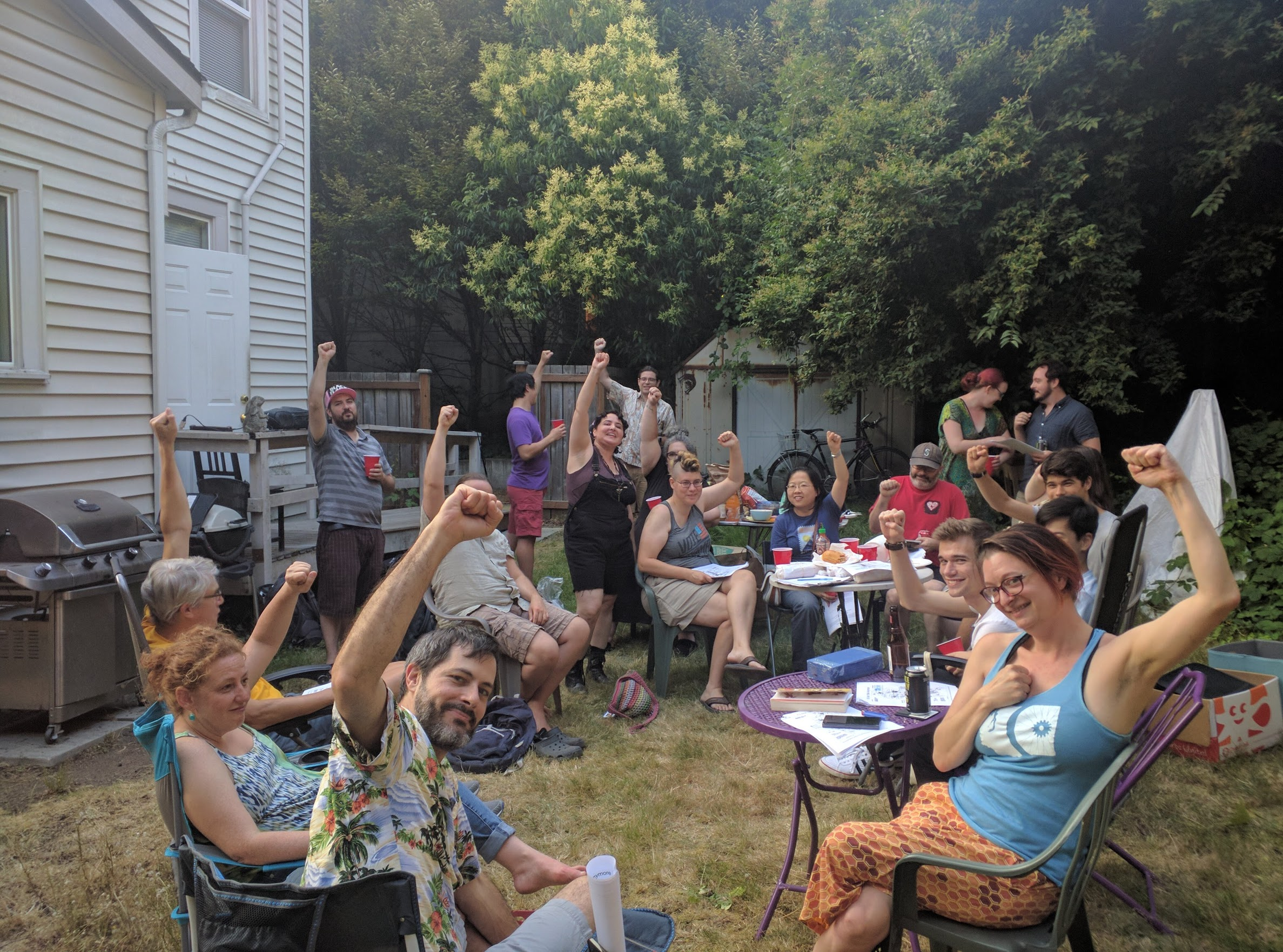 house party July 2018