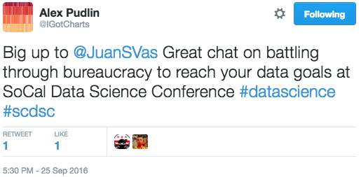 SoCal_Data_Science_Conference_Pudlin_Tweet.png