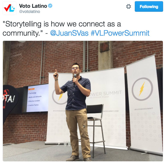 VLPowerSummit_Sacramento_Voto_Latino_tweet.png