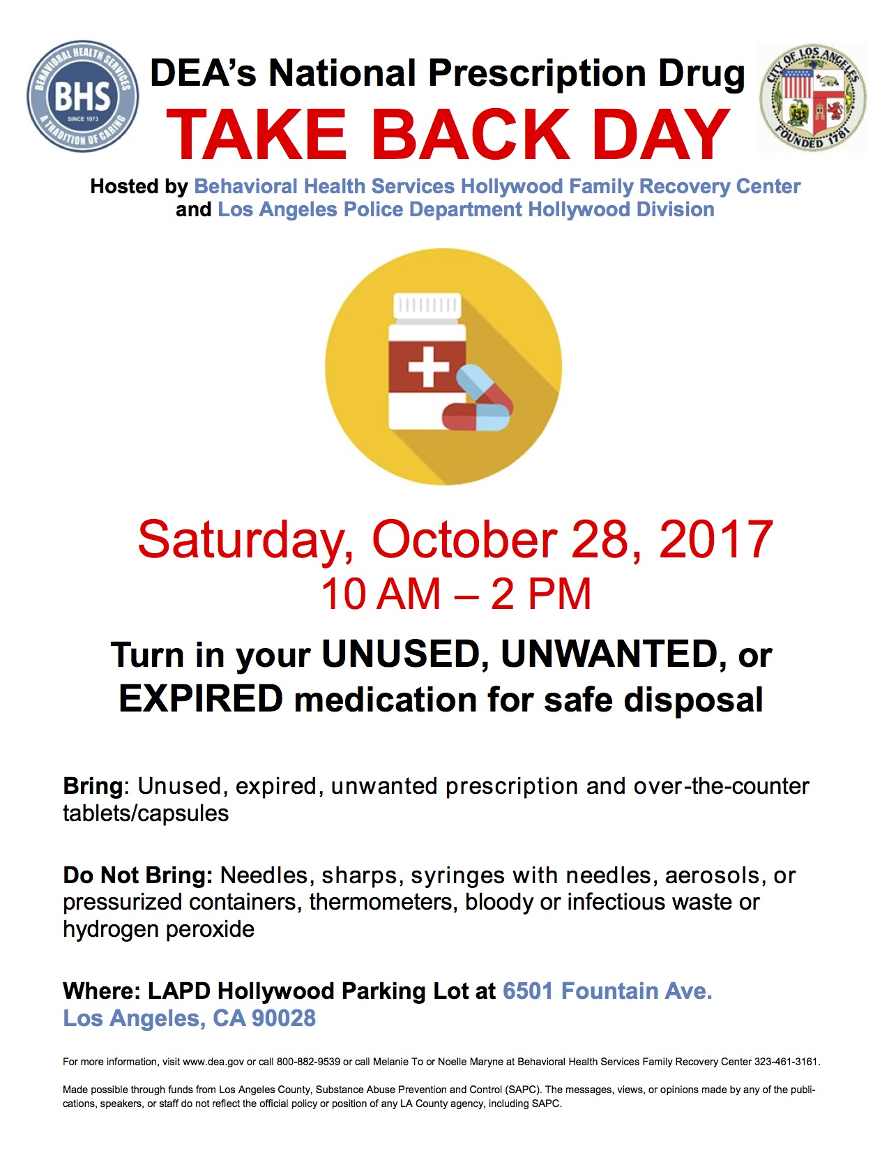Take Back Day