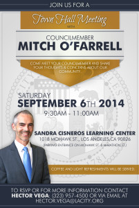 Councilmember Mitch OFarrell Town Hall