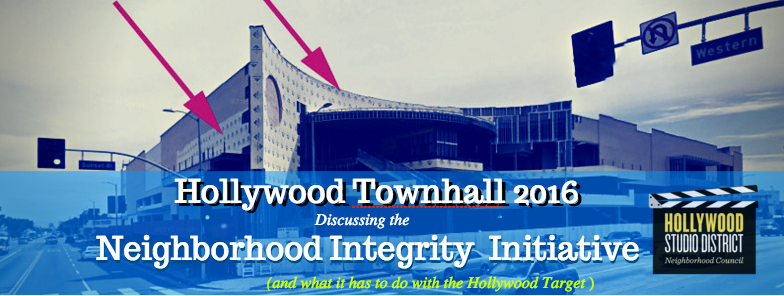 Townhall to discuss the Hollywood Target