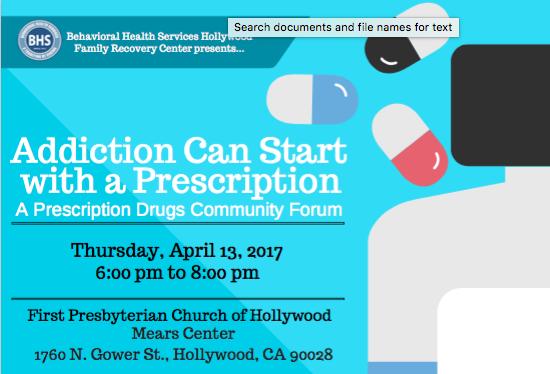 Prescription Drug Community Forum Hero