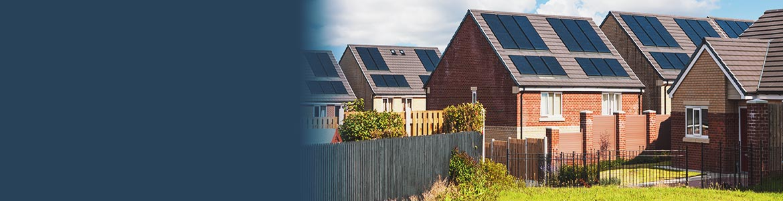 Solar panel housing