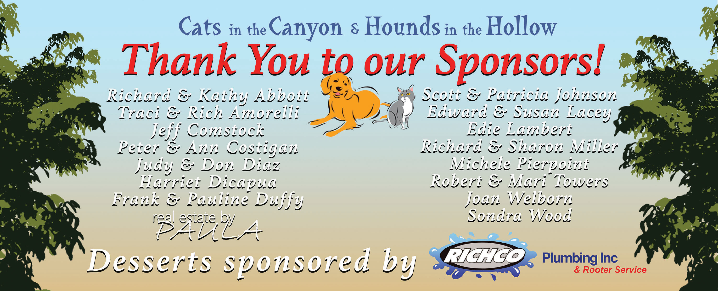 A Success! - Cats in the Canyon & Hounds in the Hollow 2016 - Humane ...
