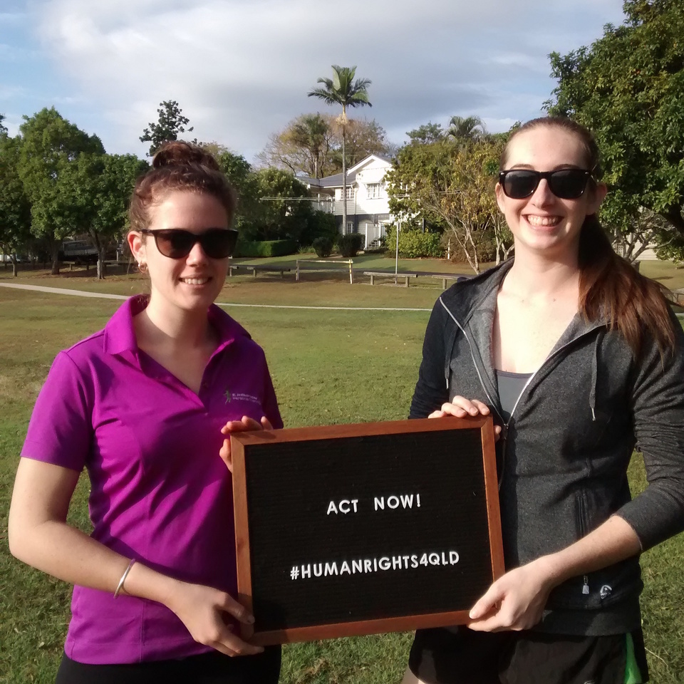 Two Queensland Women call for the Government to Act Now