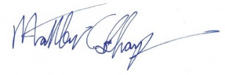 Matt Sharp's signature