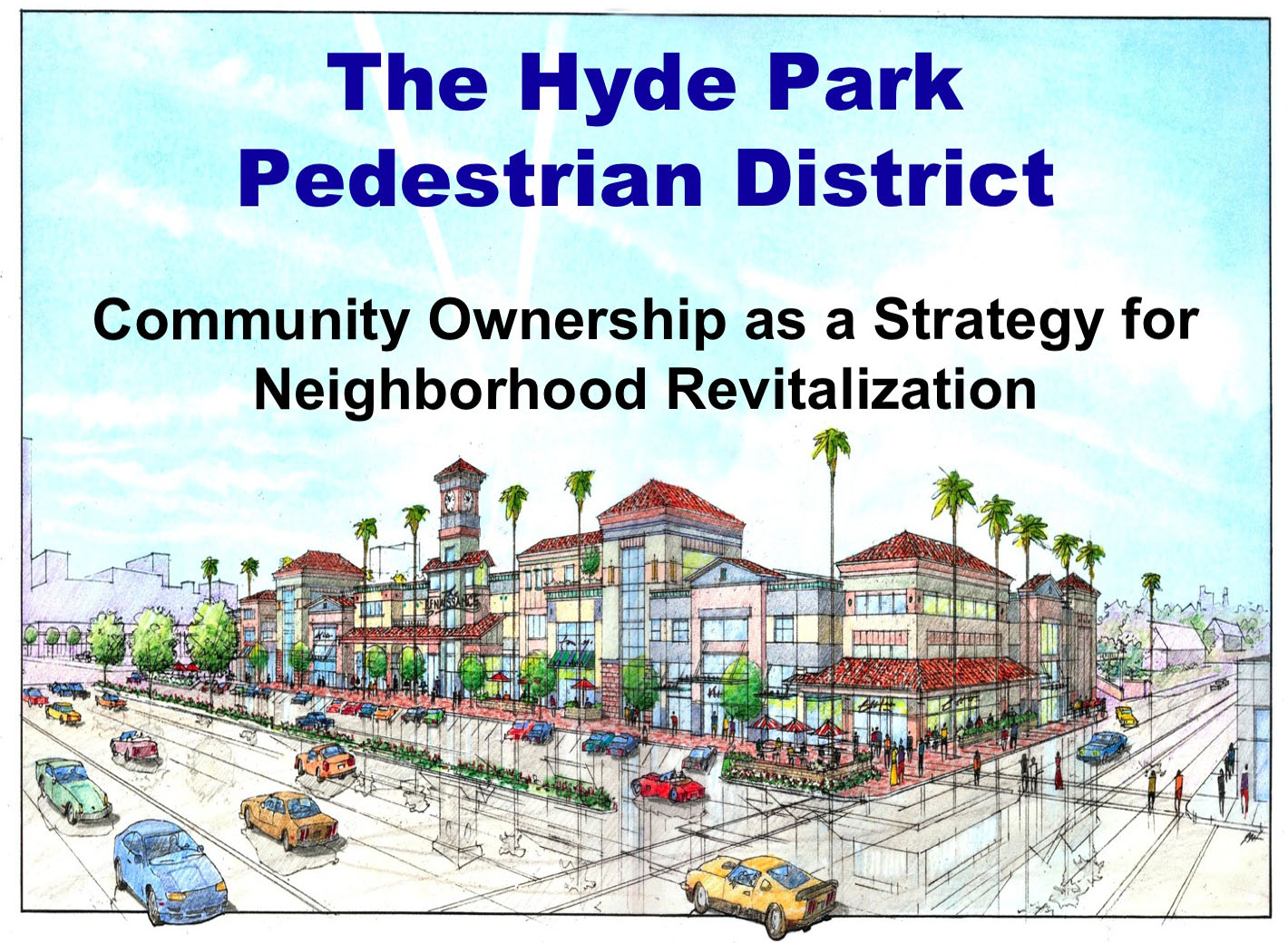 Hyde Park Pedestrian District