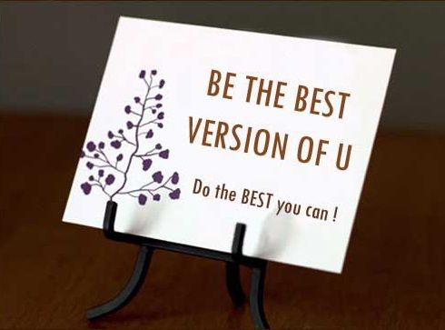 Be The Best Version Of You I Am That Girl