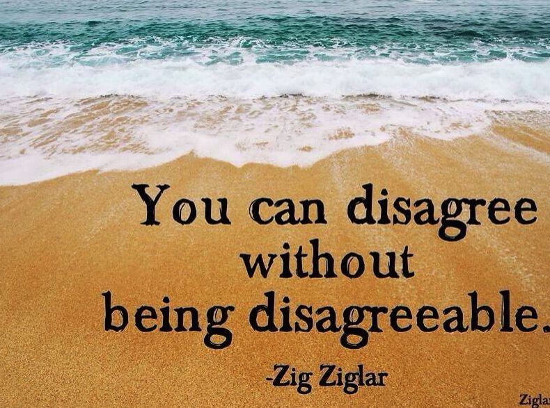 agree to disagree in small talk