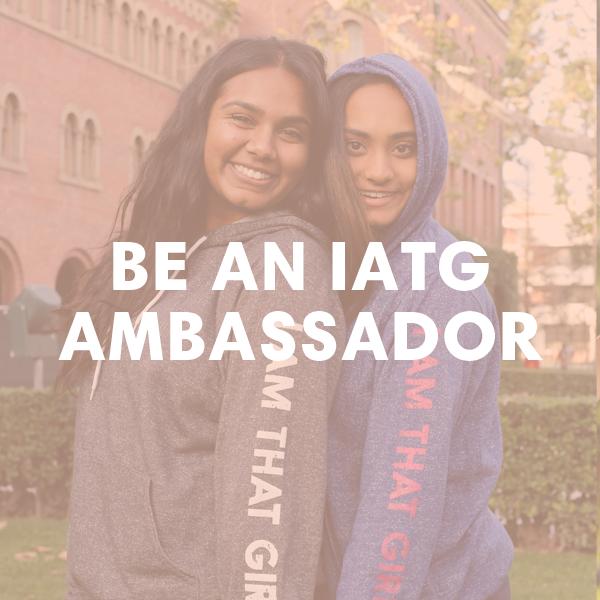 Be An IATG Ambassador