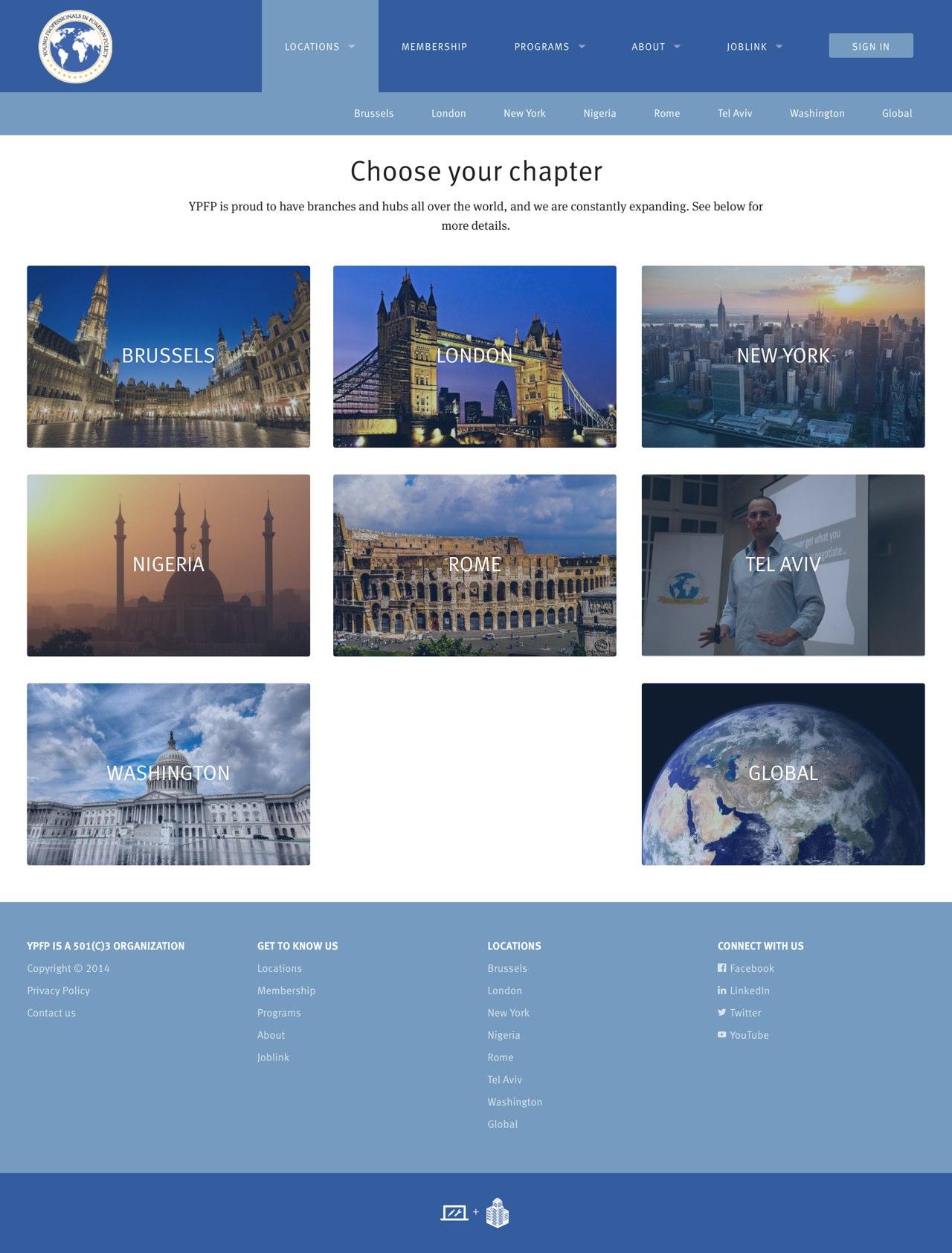 Screenshot: Choose your chapter