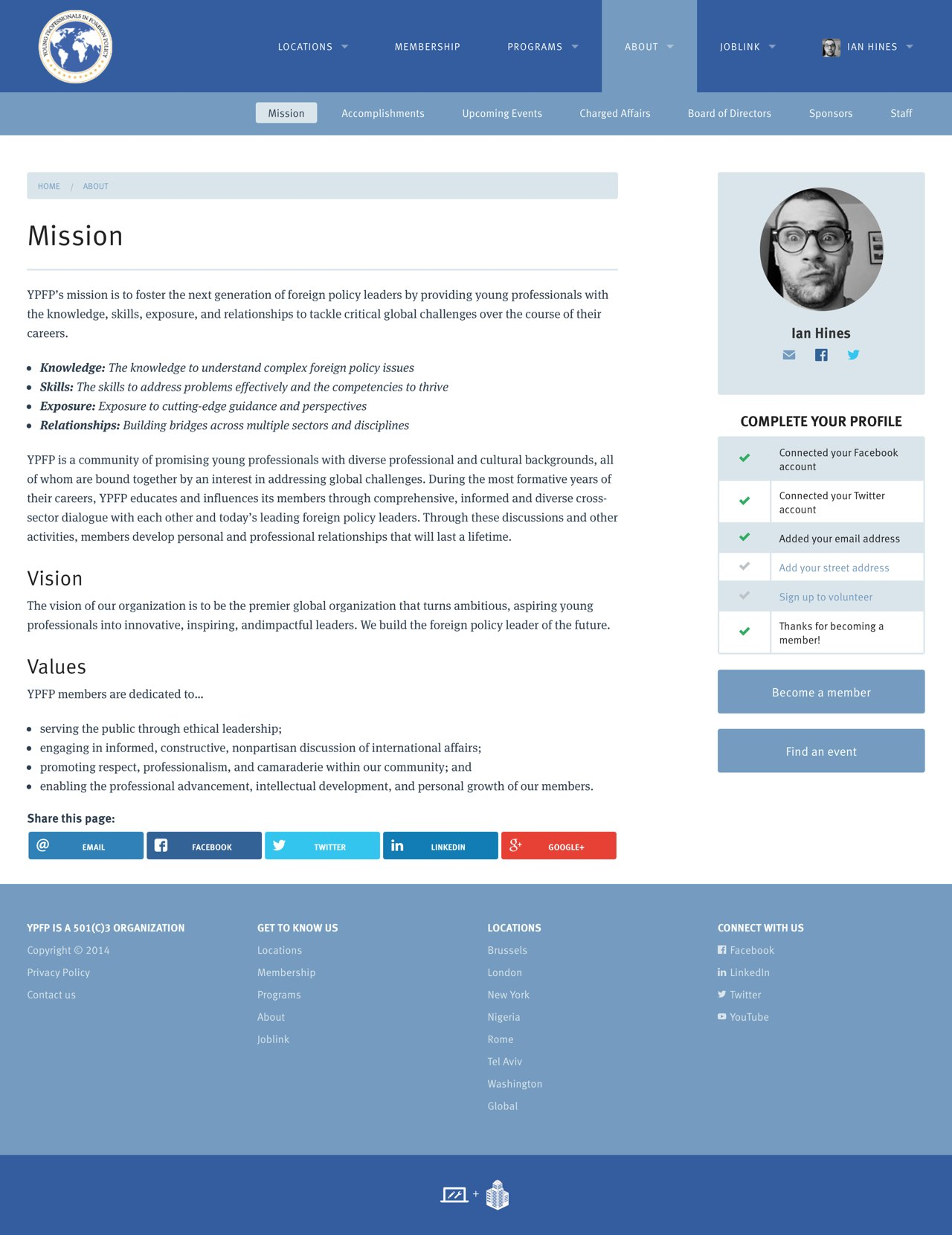 Screenshot: A Basic Page