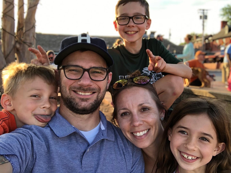 Caption: The Hines Family (May 2019)