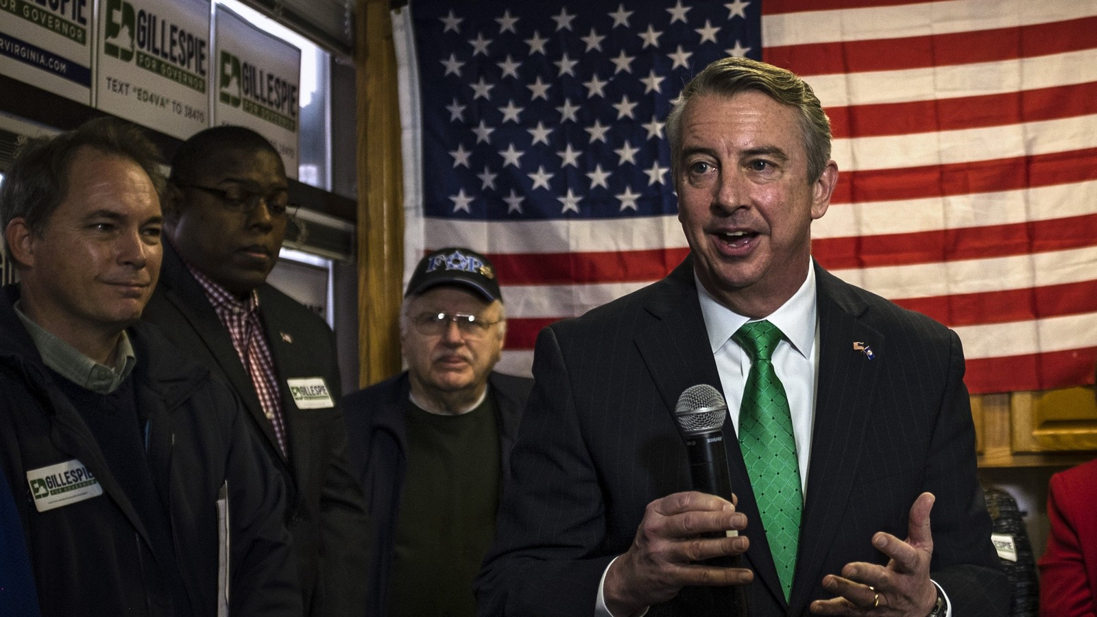 Former Republican National Committee and Republican Party of Virginia Chairman Ed Gillespie