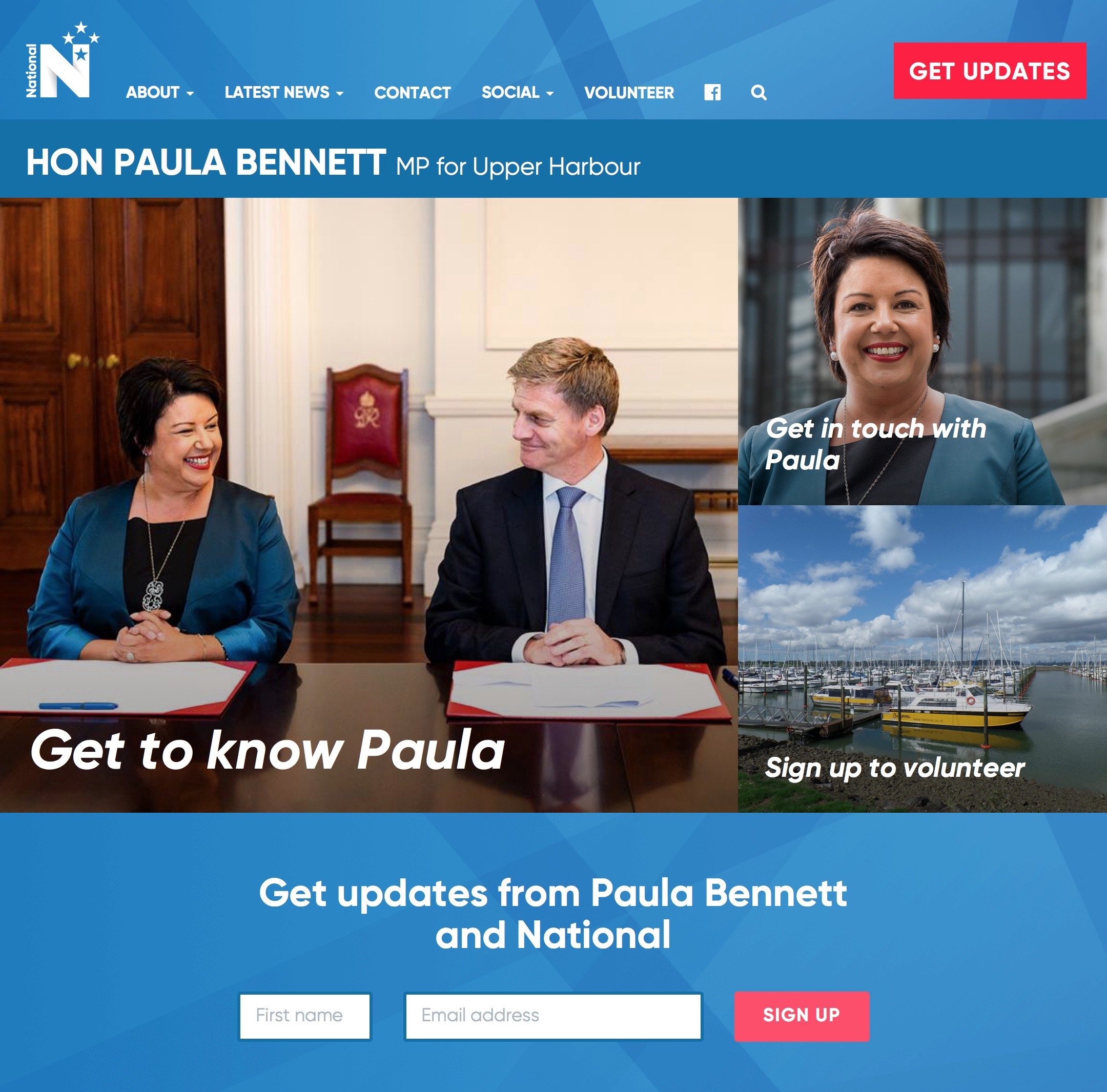 Screenshot: Paula Bennett MP