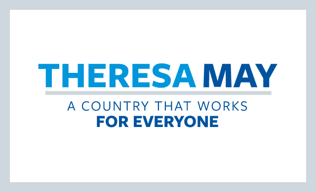 Theresa May Logo