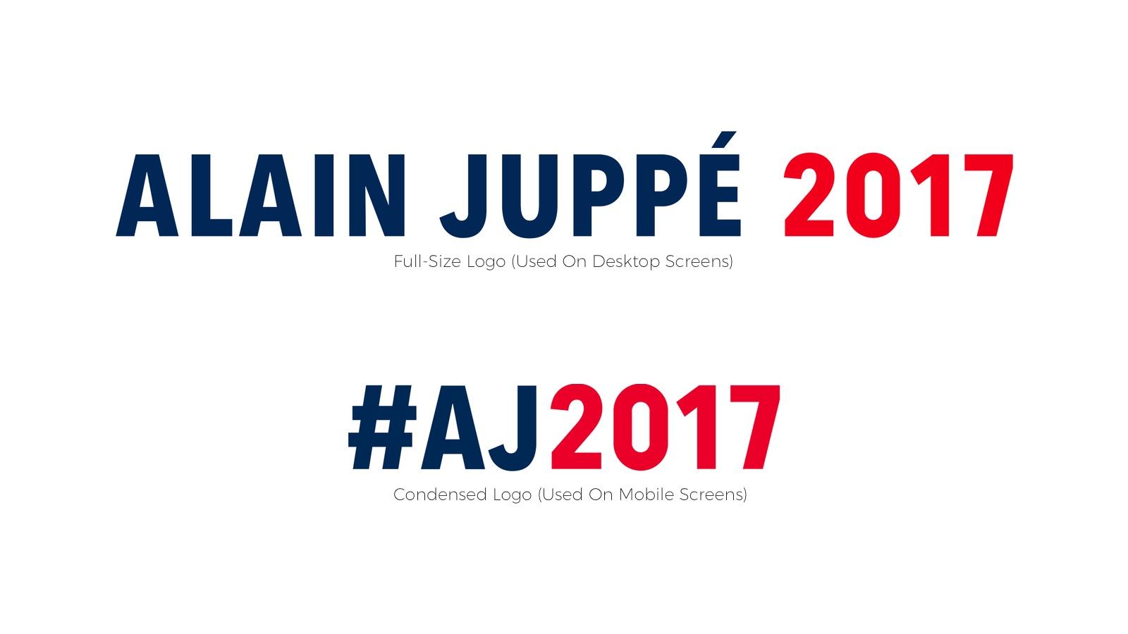 Screenshot: Juppé Branding