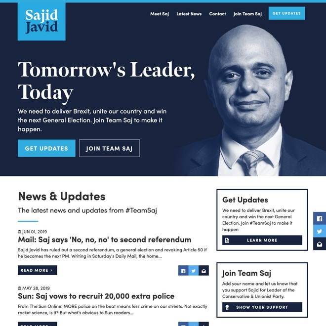 Case Study: Sajid Javid, MP for Bromsgrove
