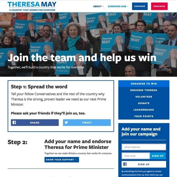 Case Study: Theresa May, MP for Maidenhead