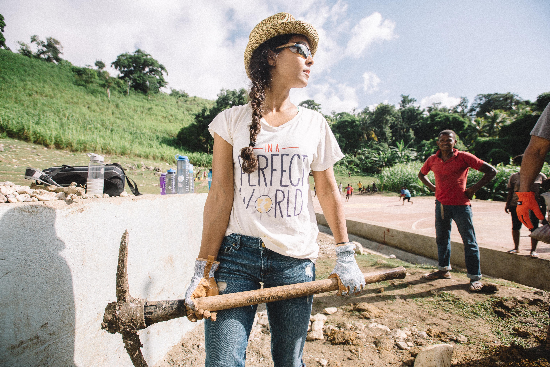 Manuela in Haiti