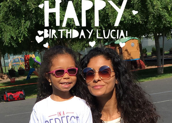 Junior Ambassador Lucia Bella donates her birthday