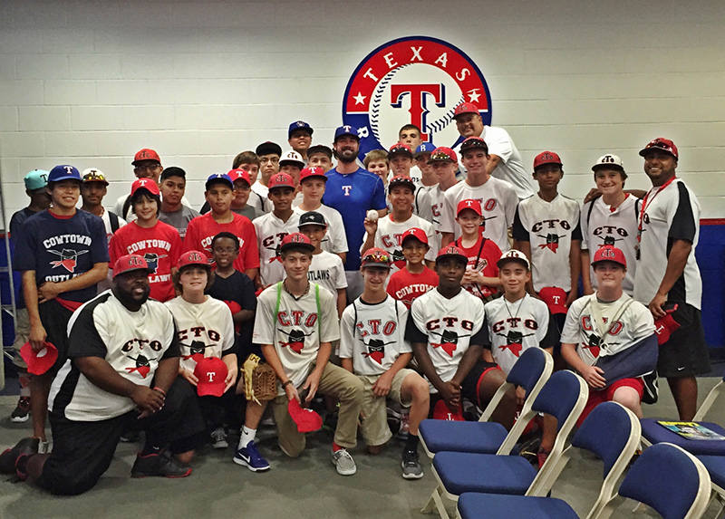 IAPW-supported youth baseball team hits the big leagues!