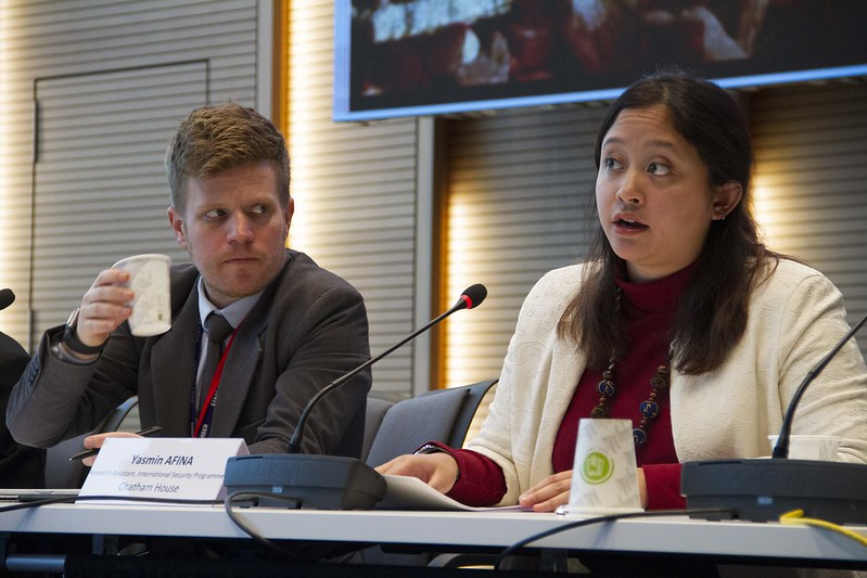 Yasmin Afina (Chatham House) describes how developments in digital technologies and the application of these technologies to defense systems may expose nuclear command and control systems to new risks and vulnerabilities, including in the cyber sphere.