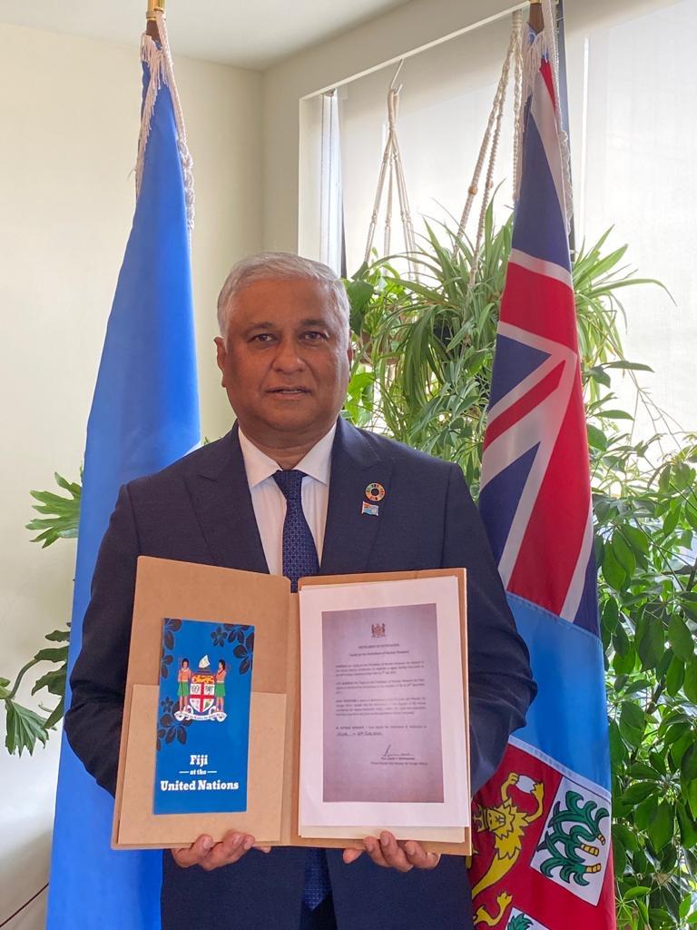 Fiji ratification TPNW