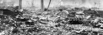USA slipper atombomben over Nagasaki