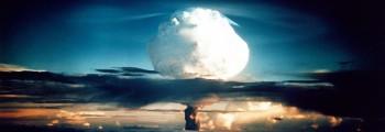 USA tester den første hydrogenbomben