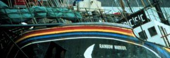Rainbow Warrior-skipet senket
