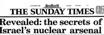 Israels atomprogram avslørt