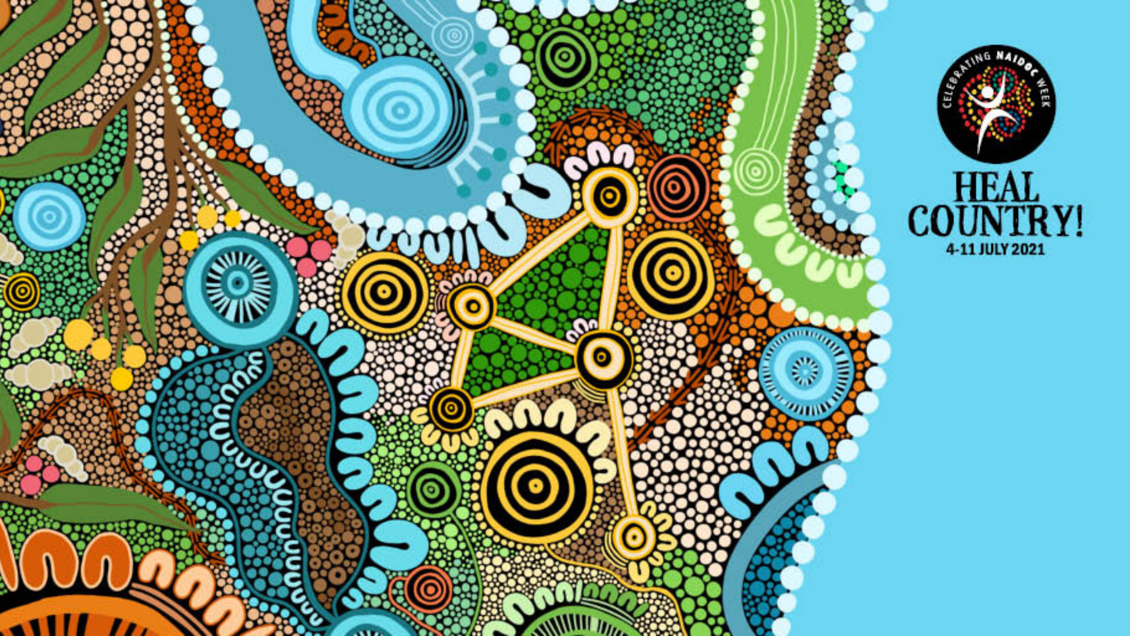 This year's NAIDOC Week theme is Heal Country!