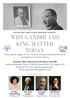 Why Gandhi and King Matter Today