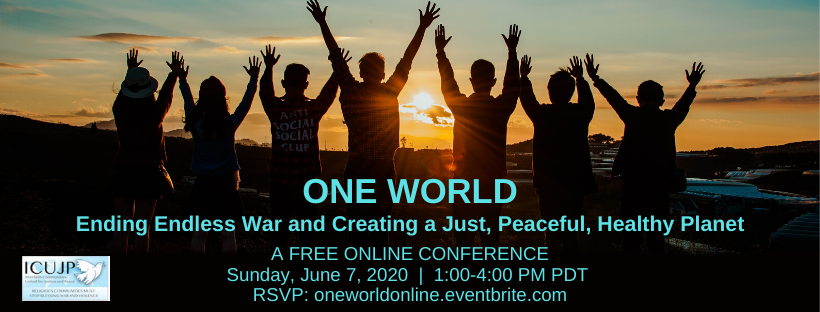 One World conference 6.7.20